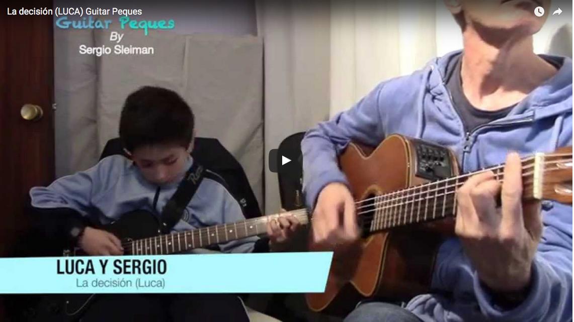 Luca (10 años) Una composición propia