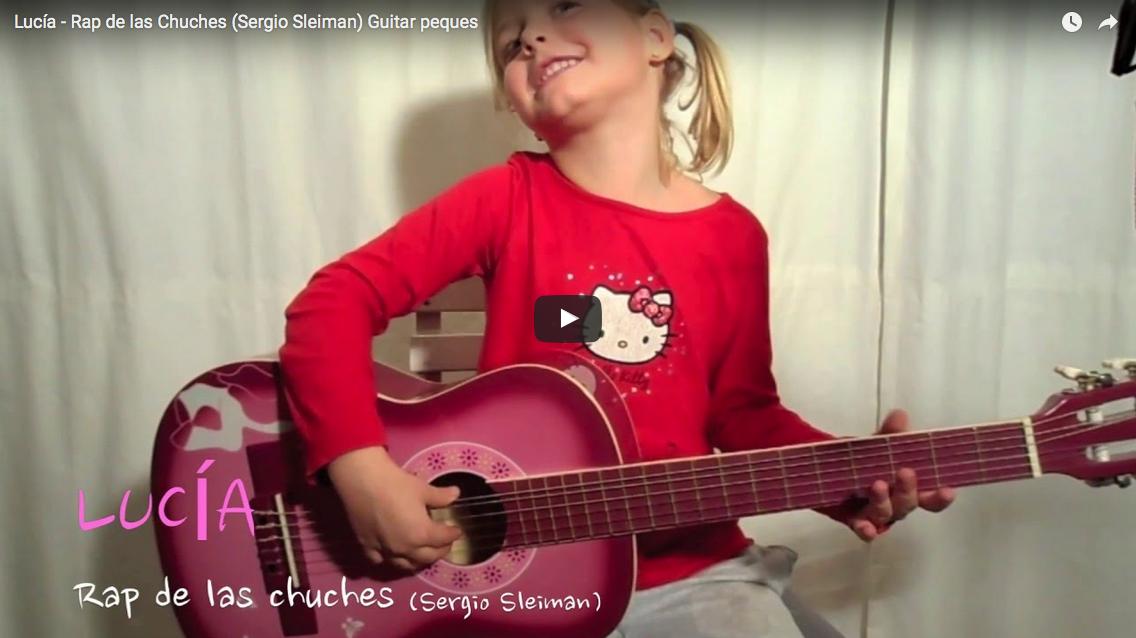 Lucía (5 años) El rap de las chuches